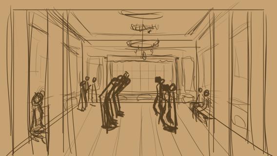 The public ballroom